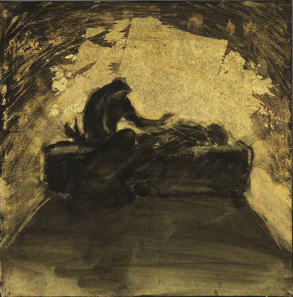 """Jesus Is Laid in the Tomb"" by Audrey Anastasi"