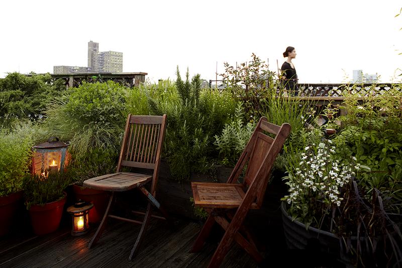 Huntergreen Brooklyn rooftop garden