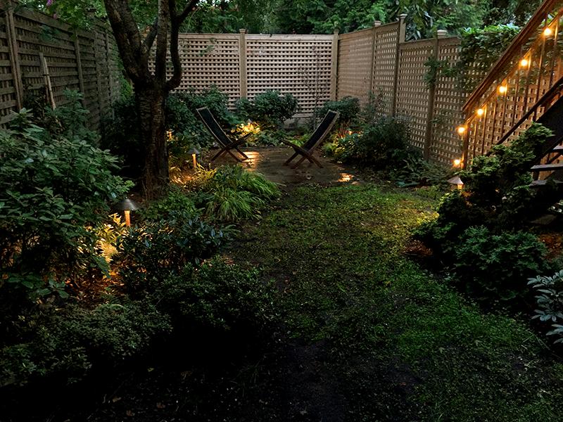 Huntergreen Brooklyn backyard