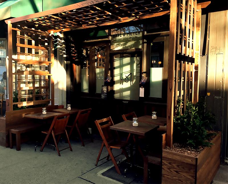 Huntergreen outdoor cafe