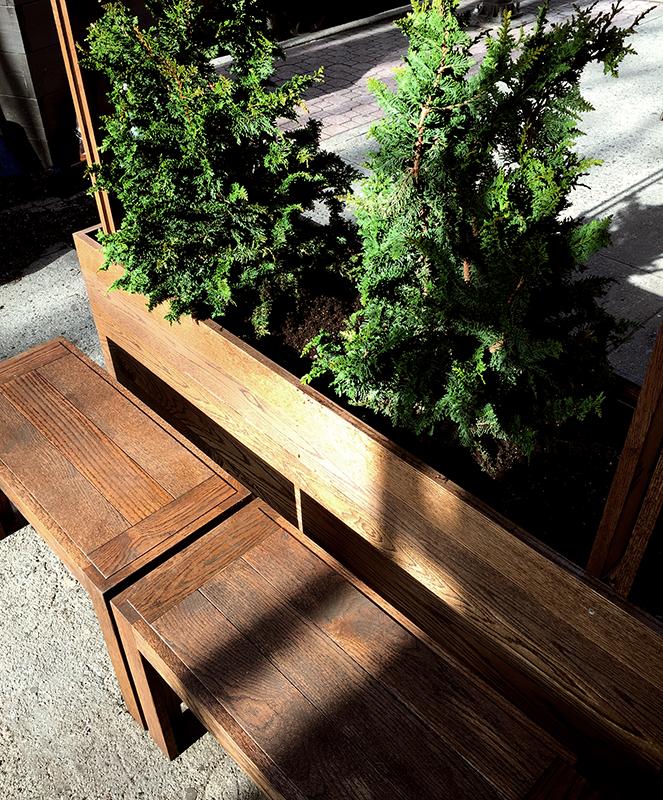 Huntergreen custom benches