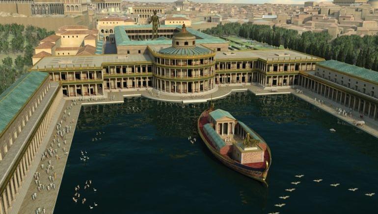 Copyright: Altair4 Multimedia (A 3D rendition of part of Nero's Domus Aurea palace)