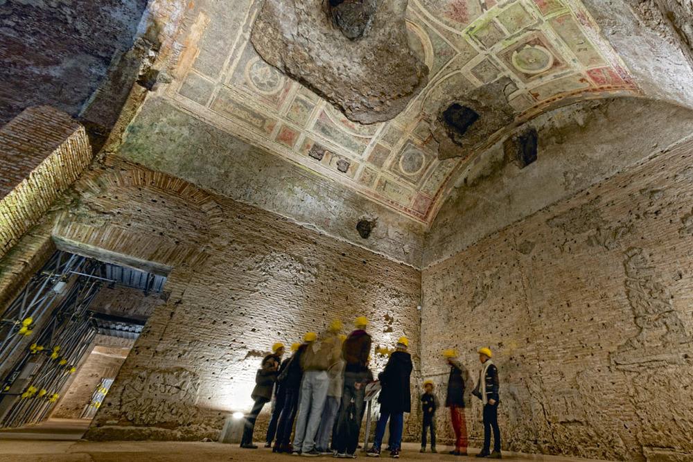 Nero S Golden House Domus Aurea Rome Divoraroma