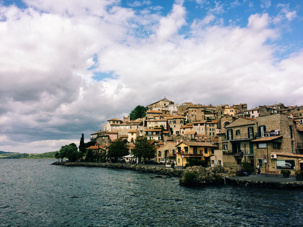 Day trip to the country side. This is Anguillara, on Lake Bracciano (where much of my family is from)    | ©DivoraRoma.com by ©MoscaStudio.com