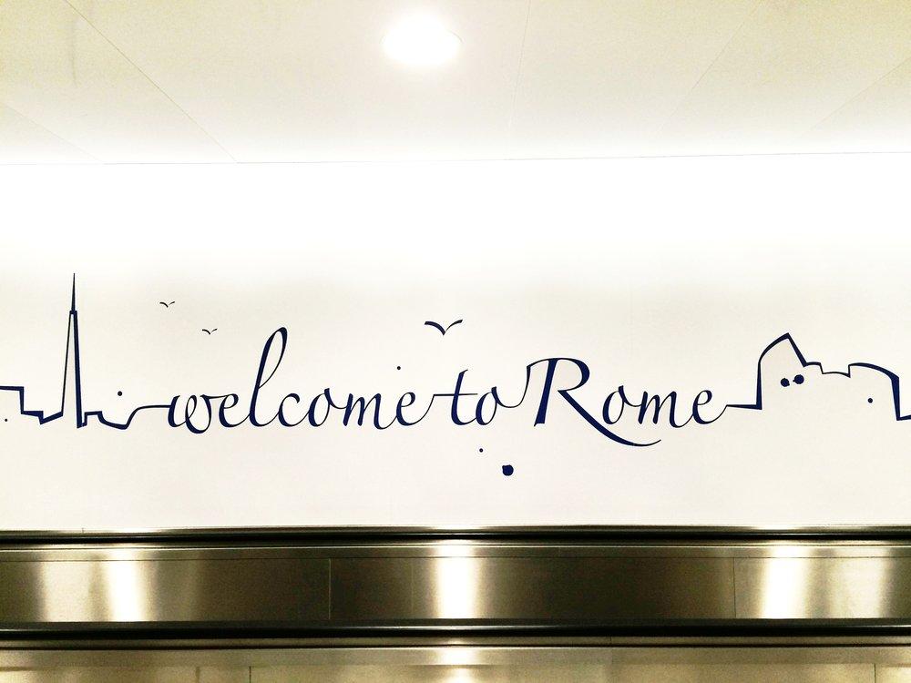 welcome to rome!   ©DIVORAROMA.COM BY ©MOSCASTUDIO.COM