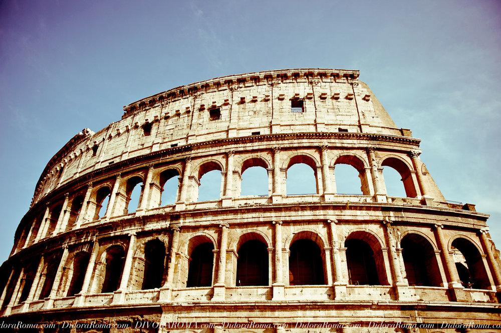 The Flavian Amphitheater (Colosseum)
