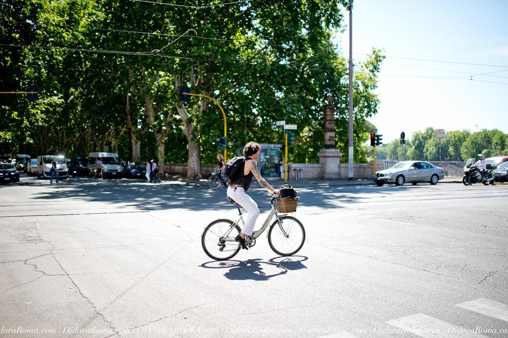 Biker in Rome (May 2017)