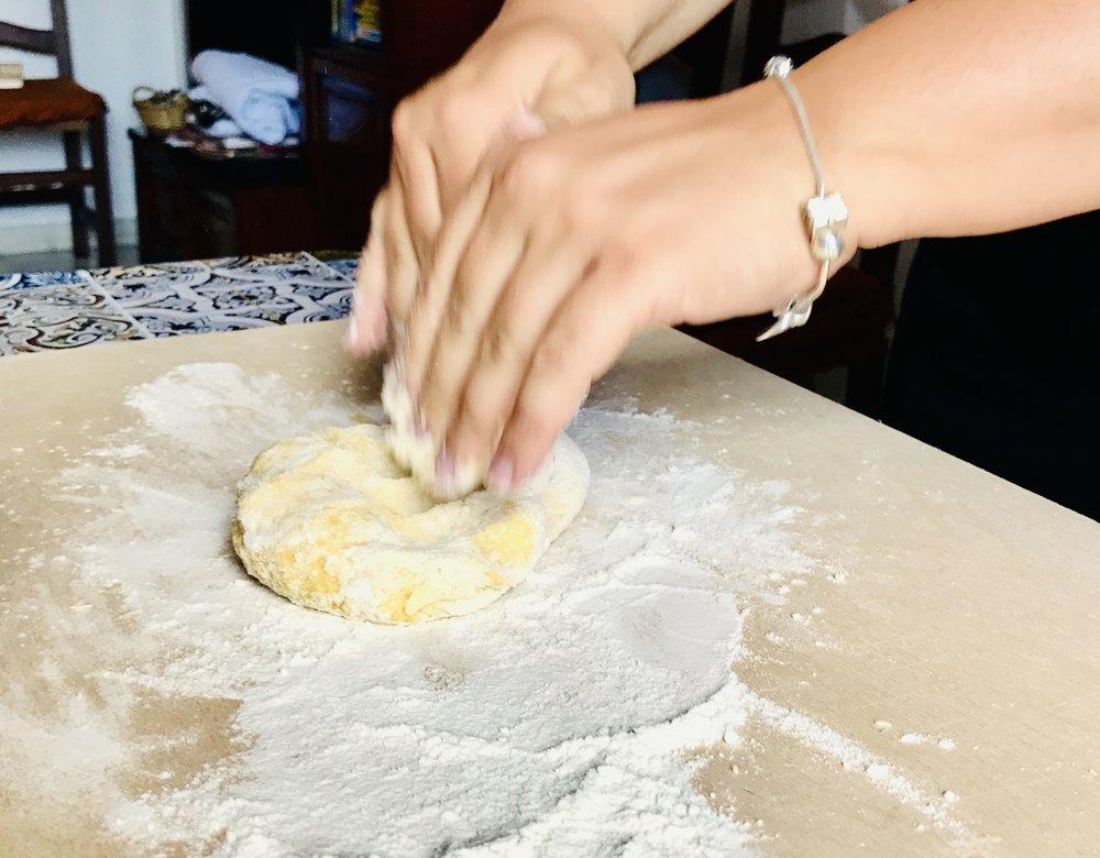 Fresh egg pasta recipe - DivoraRoma.com