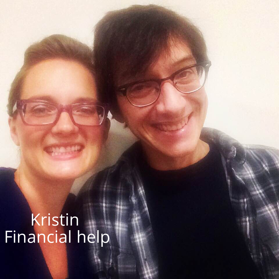 Kristin donated to her good friend.