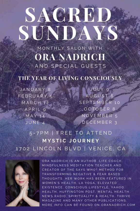 Ora Nadrich Says Who Mystic Journey