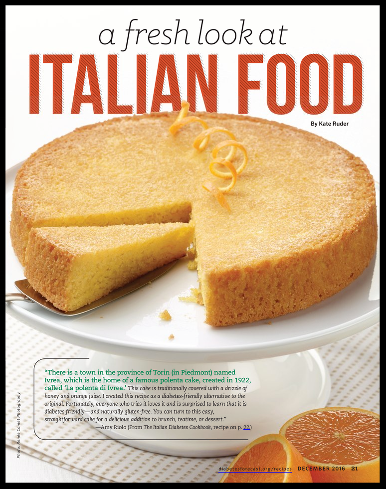 """A Fresh Look at Italian Food,"" by Kate Ruder"