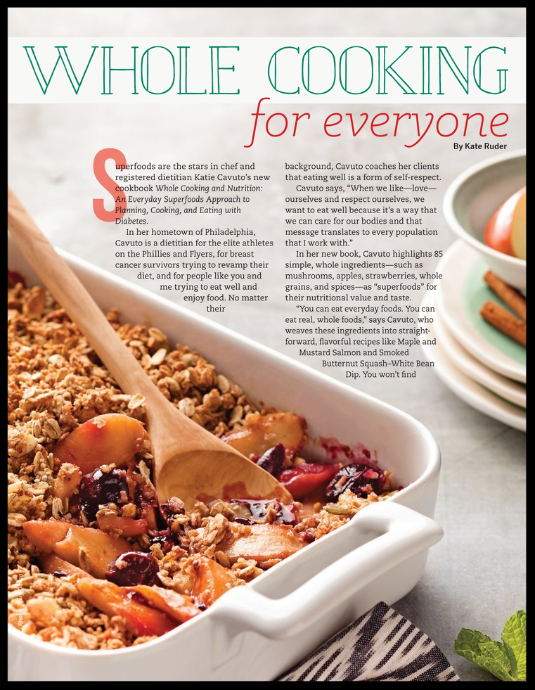 """""""Whole Cooking for Everyone,"""" by Kate Ruder"""