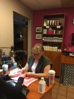 Carol Sue 720-363-6210 Nail Technician