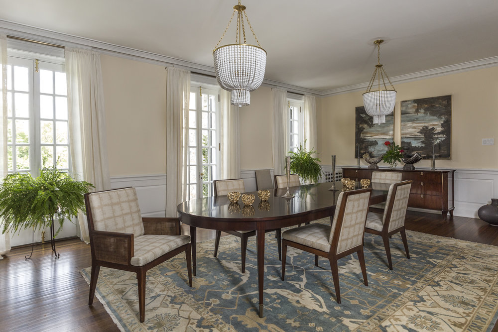 Formal Dining Room seats 12