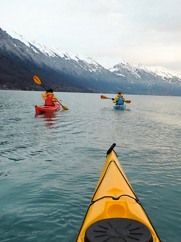 Classic kayaking picture thanks to our guide, Gavin
