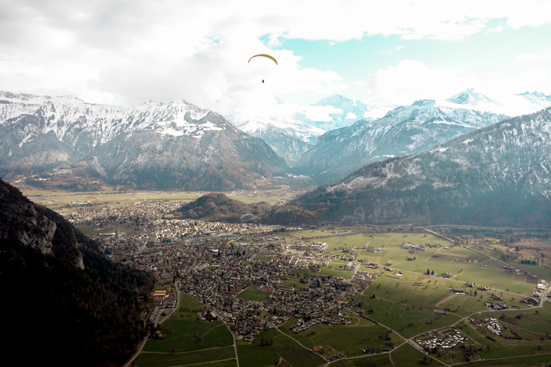 Paragliding view #1