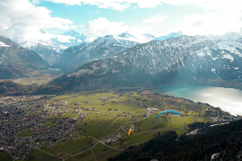 Paragliding view #3