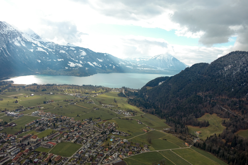 Paragliding view #5