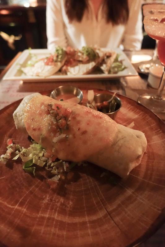 4.12.18. Agave Bean Burrito