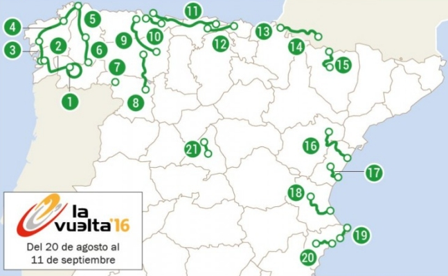 Not a route for fans of southern Spain.