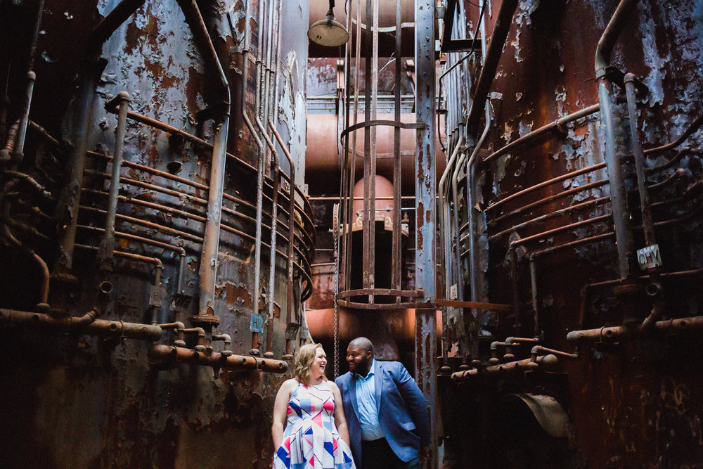 Carrie Furnace Engagement