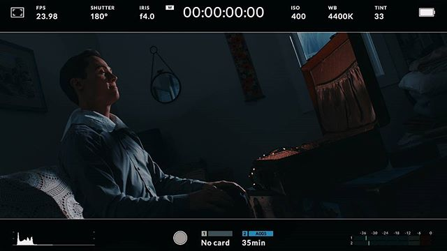 """DP'd """"About Andy"""" over the weekend, and our moonlight INT.s turned out great thanks to @rayzr_light Rayzr7 300d  #lightingandgrip #lighting #ledlights #filmmaker #filmmakers #filmmaking #new #lights #grading #colorcorrection #onset #blackmagic #ursaminipro #sigma #custom #lut #cinematography #cinematographer  #shortfilm #videomaker #makingof #audiovisual #shortfilm #filmproduction #videoproduction"""