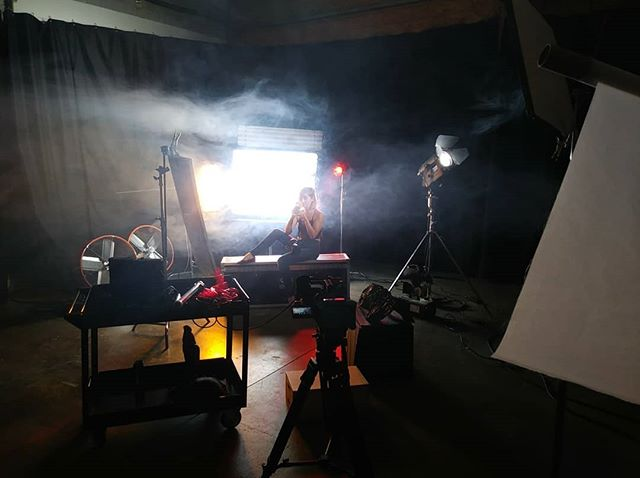 Pre-lighting in the NWMP Studio with  @cyber.jewel @quasarscience @kinoflolightingsystems & @rayzr_light  #cinematographer #cinematography #filmmaker #filmmaking #director #film #photography #cinematic #videoproduction #filmproduction #dop #cinema #videographer #videography #actor #musicvideo #filmlife #directorofphotography #producer #setlife #filmmakers #movie #photographer #onset #filming #indiefilm #shortfilm #dp #production
