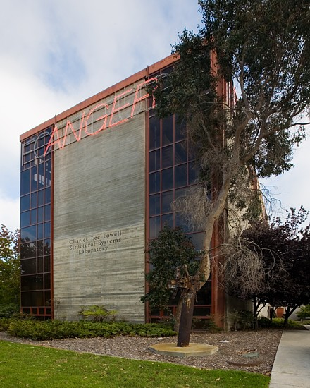 UCSD Powell Structural Lab  - San Diego, CA.  Built in 1986 for seismic and other testing for the Structural Engineering Department.
