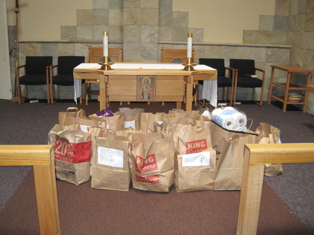 "Food is collected continually throughout the year with an emphasis at ""Loves and Fishes"" Sunday during the summer, when food pantries are most in need of donations."