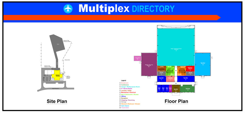 Multiplex Facility - Floor Plan   Click to view larger image