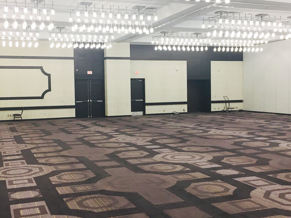 Portion of Ballroom @SheratonLAX