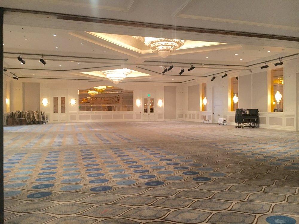 Portion of the Ballroom @SheratonUniv