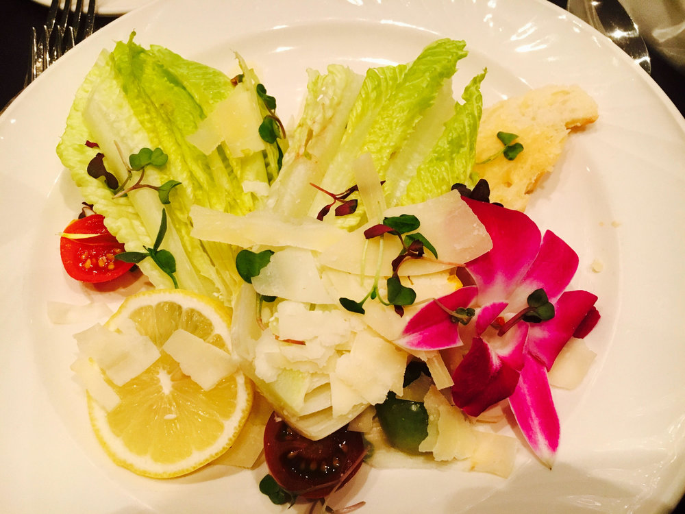 Salad - HSMAI at Sheraton Universal