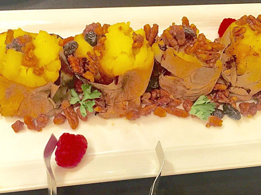 Sweet Potatoes - @SheratonUniversal