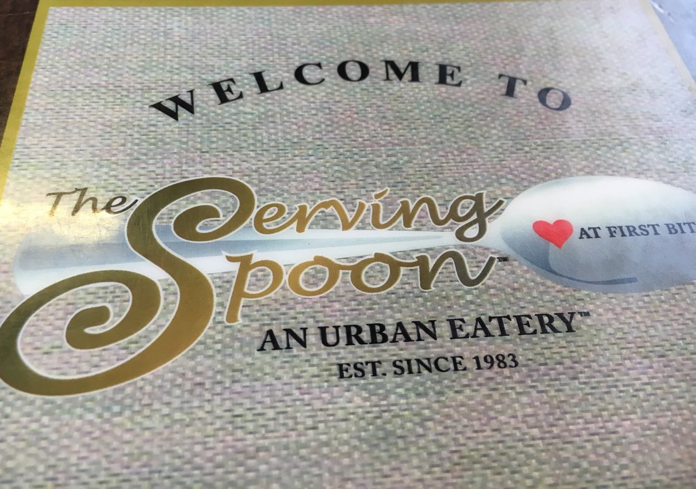 The Serving Spoon,  a long standing restaurant for breakfast in Los Angeles, located on Centinela Blvd. Open from 6am to 2pm daily. Very popular on the weekends so be patient, because you will have to wait to be seated. Good food & even better prices!