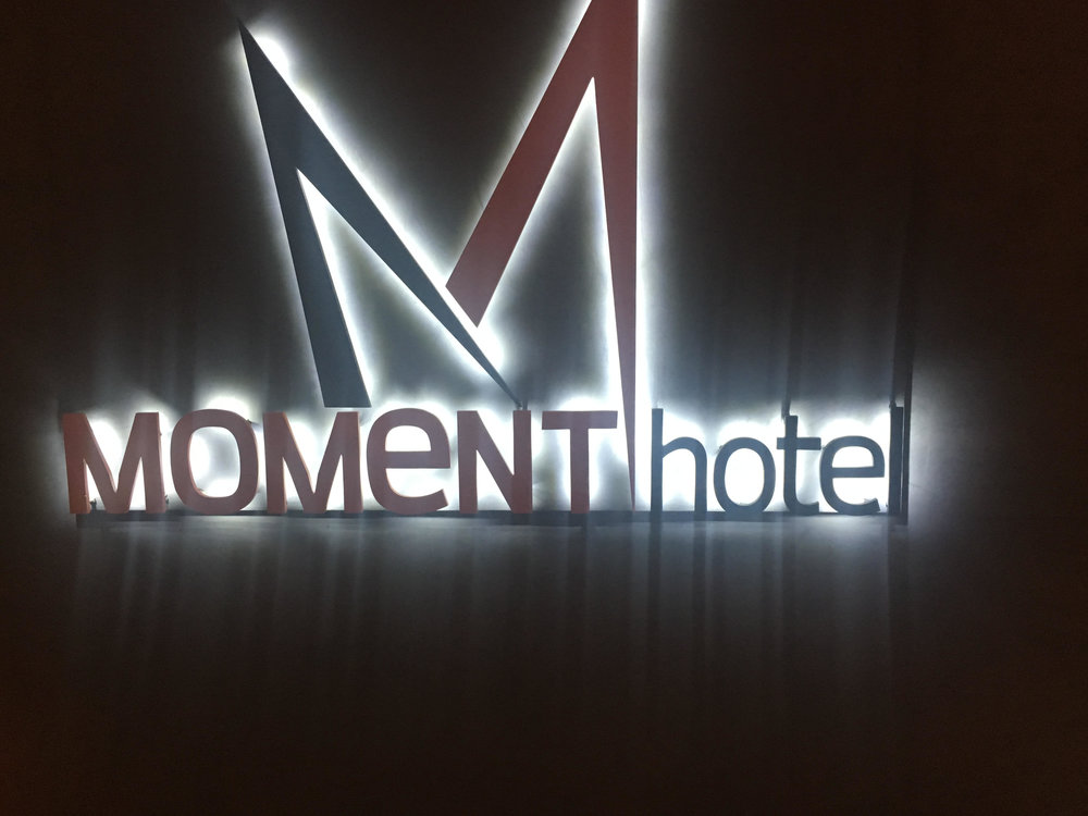 @TheMomentHotel on Sunset Blvd