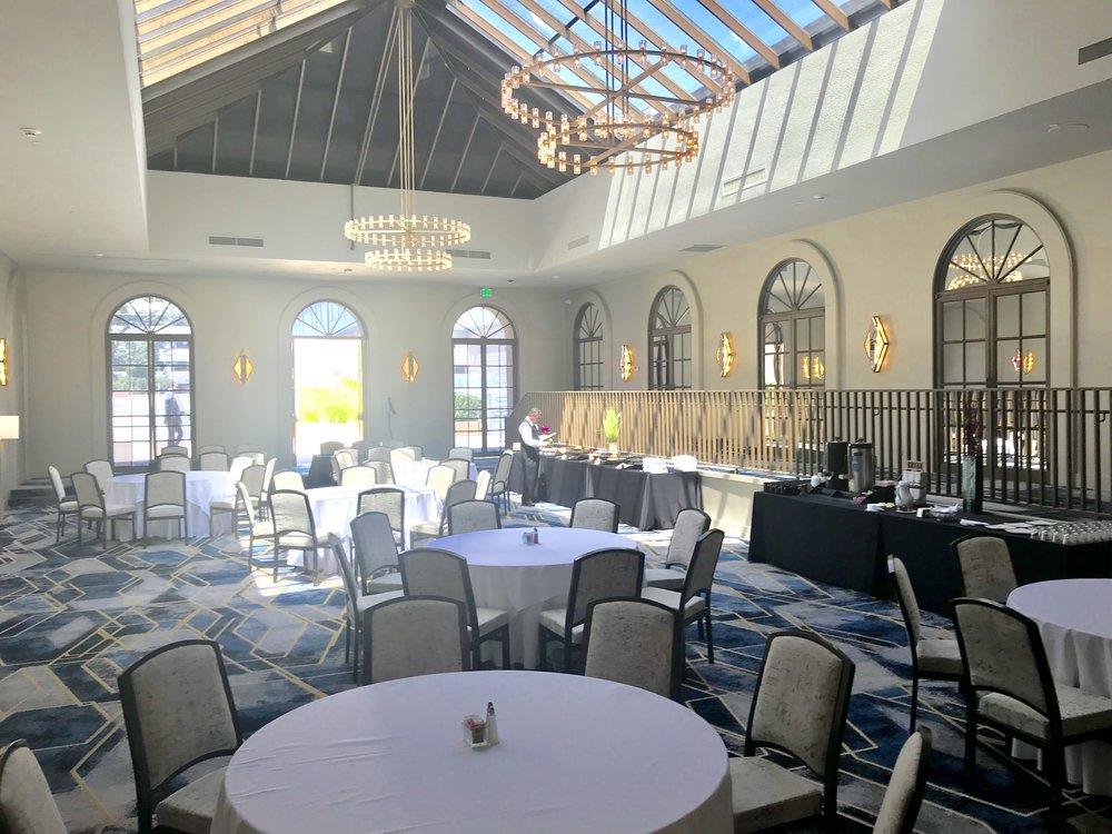 Flexible event space at the Sheraton Pasadena.