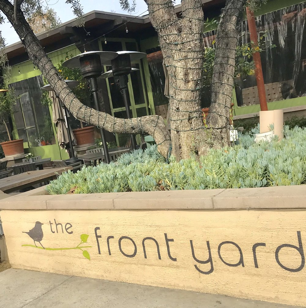 Great Food at the Front Yard Restaurant & Bar! Try the Caramelized Brussel Sprouts. #Delish