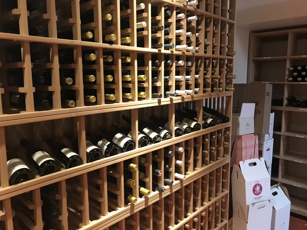 Wine Cellar at Collins College of Hospitality Management - Cal Poly Pomona University