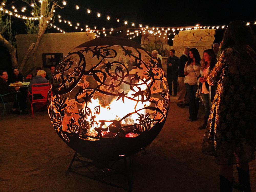 'Desert Dream' Fireball  The Ruin Venue , Joshua Tree, CA