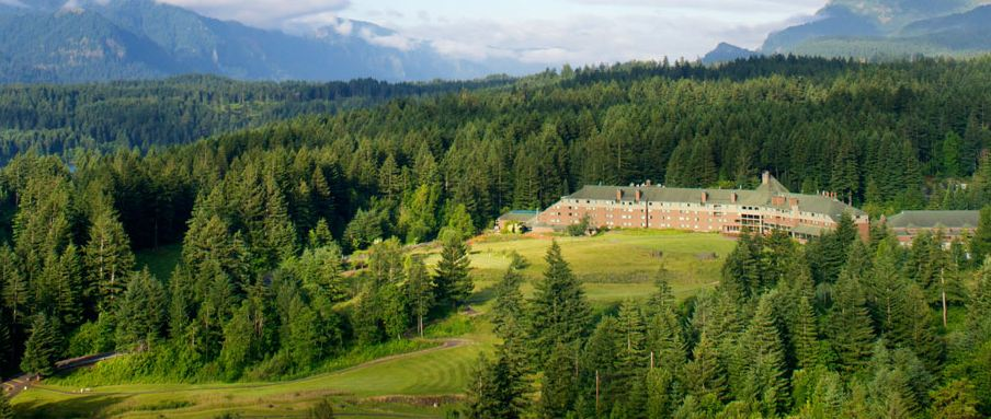 Skamania Lodge in Washington State.