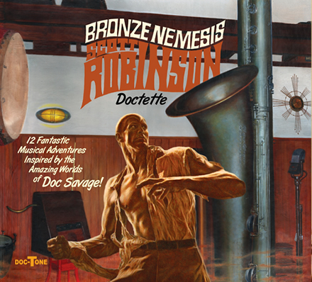 Scott Robinson Doctette - Bronze Nemesis