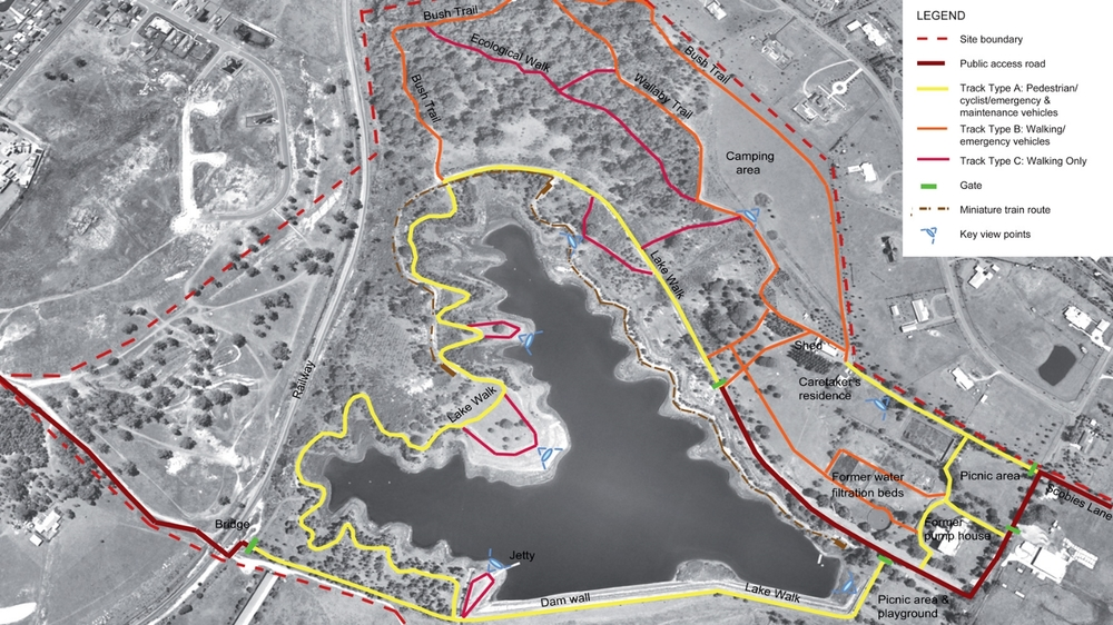 Walka Precinct Park Network