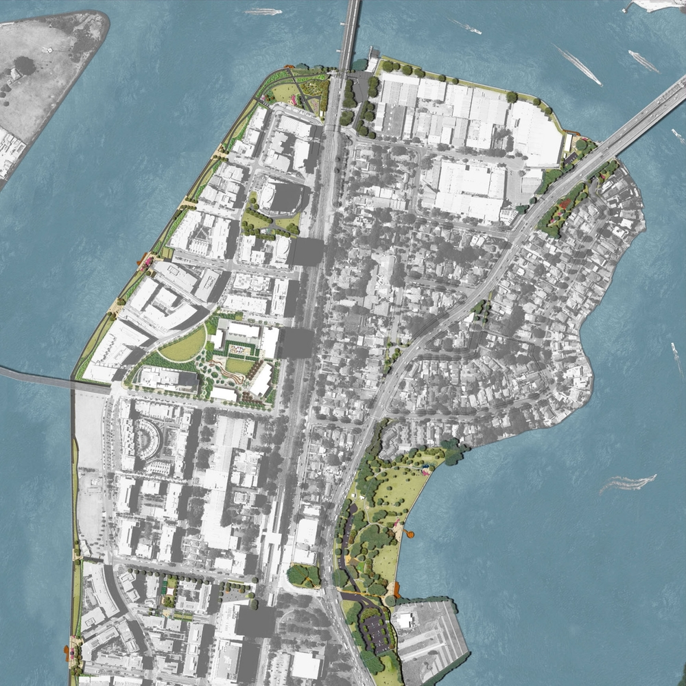 Rhodes Peninsula Open Space Master plan