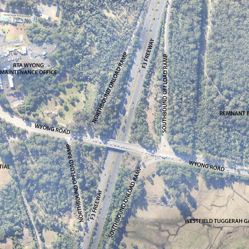 F3 - Wyong Rd Interchange Upgrade