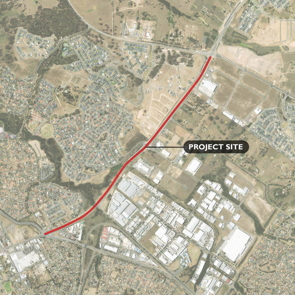 Camden Valley Way Upgrade - Narellan