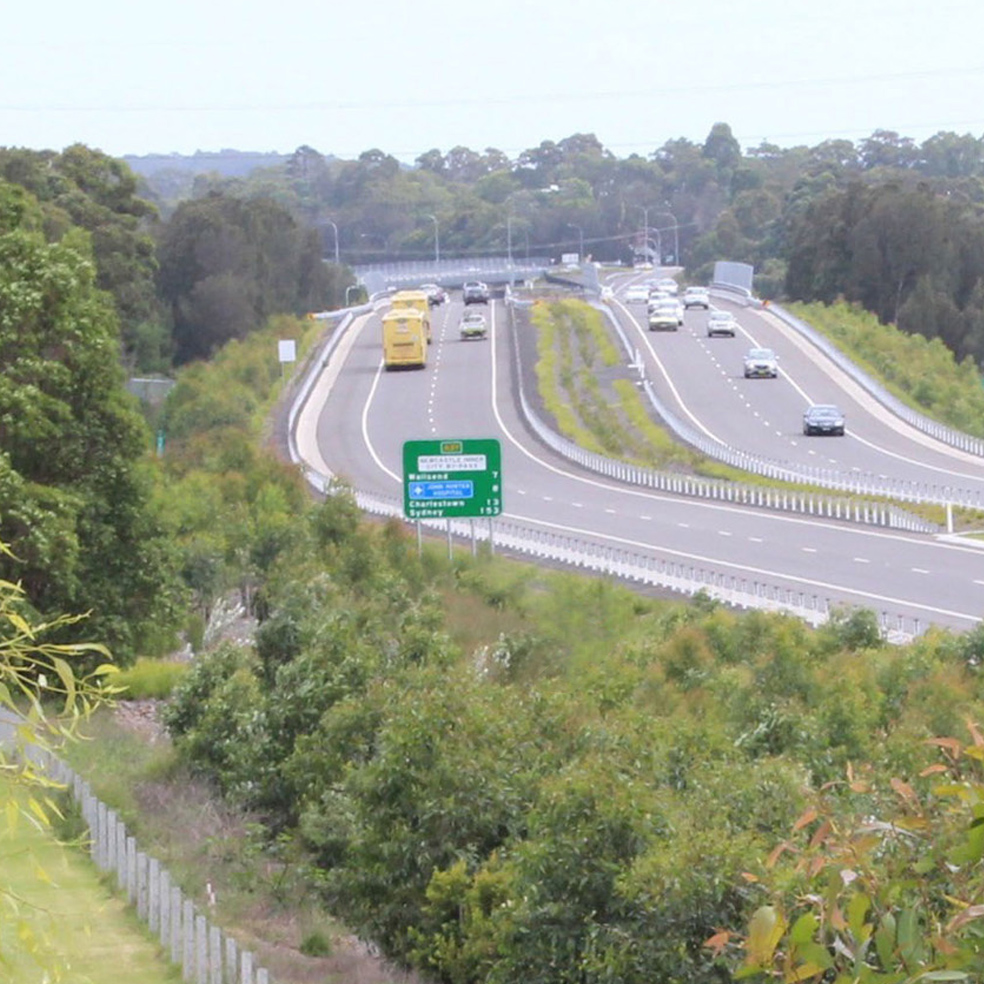 Newcastle City Bypass - Shortland to Sandgate