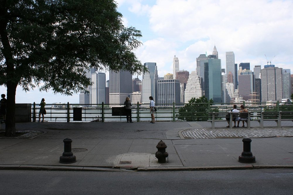 Brooklyn Heights Promenade view to Manhatton