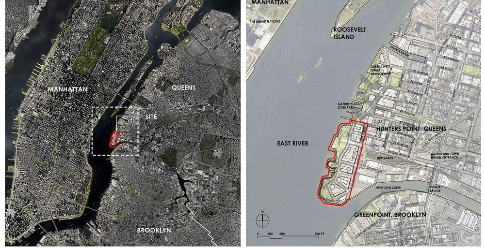 Context Hunter's Point South Project Plan Source: New York City Economic Development Corporation