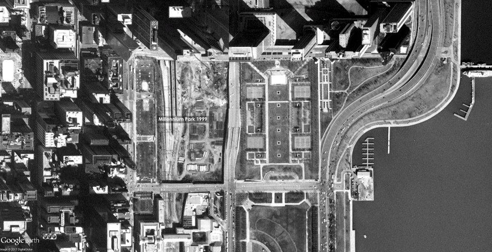 Millennium Park 1999 Source: Google Earth